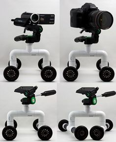 DIY PVC Skater dolly (Table Dolly) by the other Martin Taylor, via Flickr