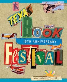 Texas Book Festival 15th anniversary poster