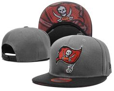 NFL Tampa Bay Buccaneers Grey Snapback Hats--TX Team Gear f0da3e6d1f9