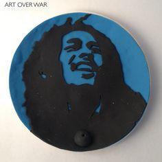 """Polymer Clay """"Bob Marley"""" Incense Holder"""