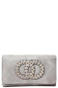 Embellished Purse in Grey – Mahoganyfair