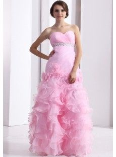 Organza Princess Evening Prom Dress