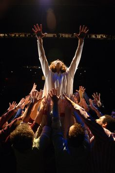 A promotional photo for the Porthouse Theatre's Summer 2006 production of Jesus Christ Superstar.