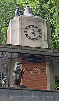 Delacorte Musical Clock at Central Park Zoo in NEW YORK CITY