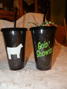 Personalized Acrylic Tumbler by TheStitchNRoom on Etsy, $12.00