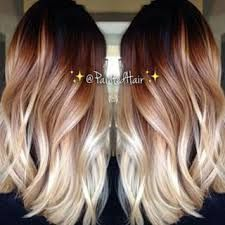 Image result for platinum blonde color melt