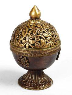 Exquisite incense burner from India