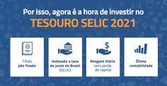 Agora é a hora de investir no Tesouro SELIC 2021