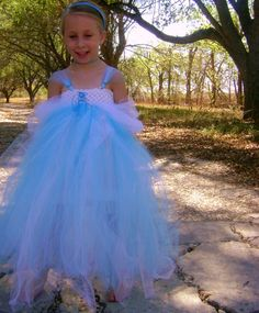 I might try to get crafty and make her a beautiful, tutu-y, princess-y dress :)