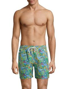 POLO RALPH LAUREN Poly Traveler Swim Trunks. #poloralphlauren #cloth #trunks