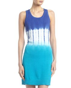 Tie-Dye Sweater-Knit Tank Dress by MICHAEL Michael Kors at Last Call by Neiman Marcus.