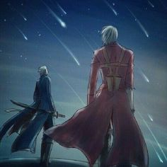 Credits to the artist. Dante and Vergil