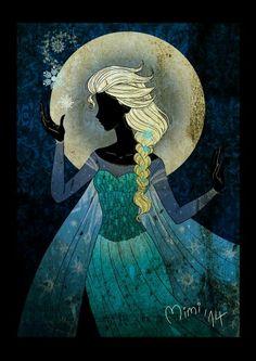 Reina Elsa _ Por Mimi