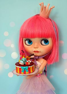 birthday blythe doll - Google Search
