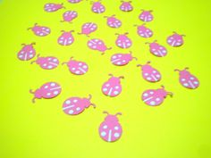 30 Pink and Purple Ladybugs by ang744 on Etsy, $2.00