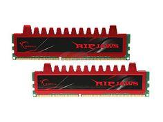2x - G.SKILL Ripjaws Series 4GB (2 x 2GB) 240-Pin DDR3 SDRAM DDR3 1600 (PC3 12800) Desktop Memory Model F3-12800CL9D-4GBRL