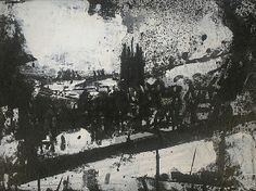 artnet Galleries: Landscape 207 by John Virtue from Nicholas Gallery (John Virtue paintings, plastic arts, fine arts,visual arts) Abstract Landscape, Landscape Paintings, Landscapes, Ink Paintings, Contemporary Art Artists, Modern Art, Monochromatic Drawing, Environment Painting, Plastic Art
