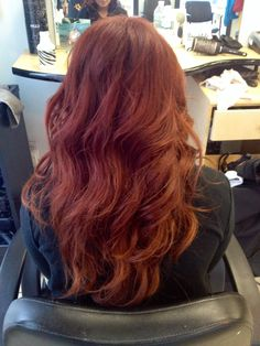 and Paul Mitchell the color Ion Hair Colors, Red Hair Makeup, Fantasy Hair Color, Red Hair Don't Care, Hair Color And Cut, Paul Mitchell, Redheads, Red Color, Stylists