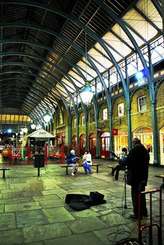 London, Covent Garden & The Stand, Covent Garden