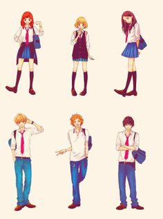 Oh god, I finished the anime a while back and now I'm almost done with the manga :') Loved it sooooo much <3 <3 <3 #AoHaruRide