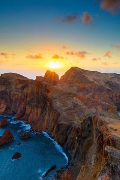 *****Sunrise at Madeira Island, Portugal (by Pedro Monteiro on 500px)