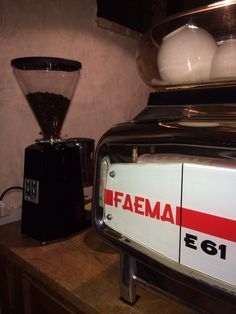 Faema coffee machine