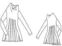 Картинки по запросу построение чертежа конструкции пальто с цельнокроеным рукавом и ромбовидной ластовицей