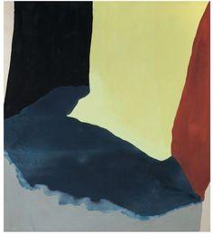 """Lunar Table,"" 1968, Helen Frankenthaler. Acrylic on canvas; 80½ x 72 in."