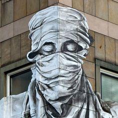 Brazilian Street Artist Alexandre Orion Creates a Stunning New Mural Out of Soot | Junkculture