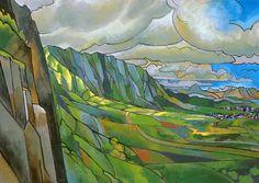 Windward Passage Art Print by Douglas Simonson | society 6