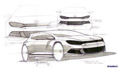 official car design sketches - Google Search