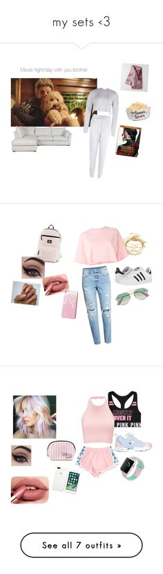 """""""my sets <3"""" by celiadevries on Polyvore featuring mode, Boohoo, American Eagle Outfitters, Puma, adidas, Concrete Minerals, Gucci, Reebok, Victoria's Secret en H&M"""