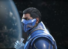 Sub-zero Mortal Kombat 9, Injustice 2, Sub Zero, Rogues, Video Game, Batman, Geek Stuff, Life, Cold