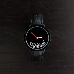 Kaos Watch in Black by Mykonos