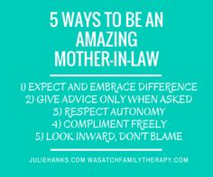 5 Ways To Be an Amazing Mother-In-Law: Studio 5 | Dr. Julie Hanks, LCSW | Emotional Health & Relationship Expert | Media Personality | Author | Songwriter | Speaker