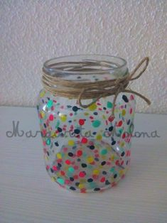 Ideas for Home Crafts With Glass Jars, Glass Bottle Crafts, Mason Jar Crafts, Bottle Art, Christmas Crafts To Make And Sell, Diy Crafts For Gifts, Diy Arts And Crafts, Pot A Crayon, Creation Deco