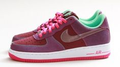 Nike Air Force 1 Low - Cherrywood Red/Pink Foil