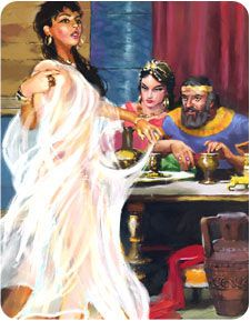 King Herod's wife, Herodias, hated John the Baptist. The desert-dwelling prophet had dared to call her an adulteress for leaving her husband Philip to marry his evil but wealthier brother. Now the wicked queen determined to use her influence over Herod to get even with John. First, she persuaded him to have John imprisoned. Then she asked to have John executed, but Herod refused. He knew th...