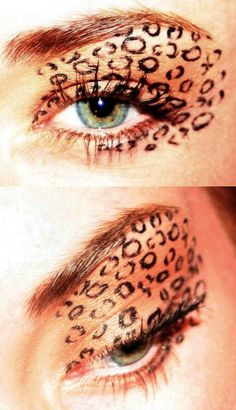Cheetah ;) gotta try to do this for Halloween!
