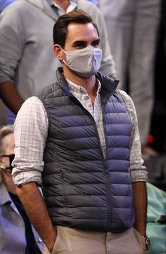 Roger Federer, Uniqlo Style, In Boston, Espn, Winter Jackets, Cricket, King, Twitter, Clothes