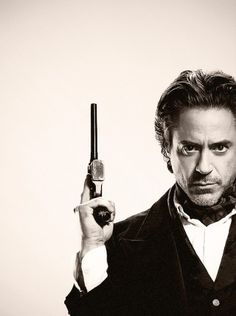 Robert Downey Junior I can pull it off well with dat gun