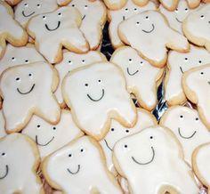 Teeth cookies for dental hygiene school graduation...I think so!!!! @Kayla Markham @Amanda Boston @Alisha Underwood @Mackenzie Vines
