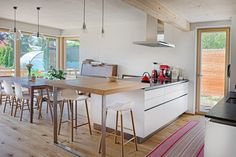 SH 9 - KLEIN ABER FEIN | AL Architekt Table, Design, Furniture, Home Decor, Home Layouts, Kitchens, Trendy Tree, Style, New Construction