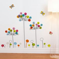 Found it at Wayfair - Mia and Co Buttercups Wall Decal