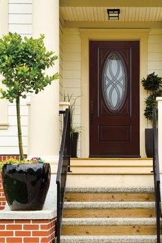 Get the look and feel of a sturdy wood front door with the durability and energy efficiency of fiberglass. Fiberglass entry doors are engineered to last and offer maximum curb appeal. See the many styles and colors we have at The Home Depot.
