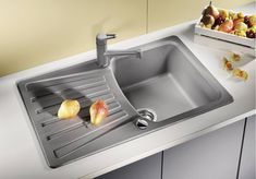 Dřez Blanco Nova 45 S aluminium 511696 Nova, Sink, Design, Home Decor, Sink Tops, Vessel Sink, Decoration Home, Room Decor, Vanity Basin