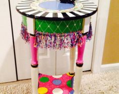 Whimsical Painted Furniture Whimsical By MicheleSpragueDesign