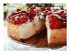 Erdbeer-Cheesecake / Strawberry Cheesecake – Kuchenphilosophie