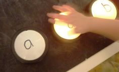 Learning letter sounds with push lights. Learning should start off being so much fun! Learning Letters, Fun Learning, Preschool Activities, Learning Phonics, Early Education, Childhood Education, Special Education, School Ot, School Ideas