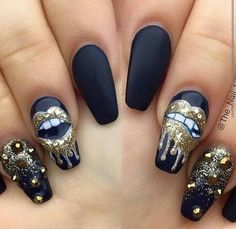 Nails poppin✨|| To see more follow @Kiki&Slim